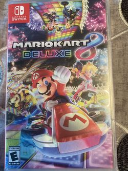 Nintendo Switch Mario Kart Deluxe 8 for Sale in Happy Valley,  OR