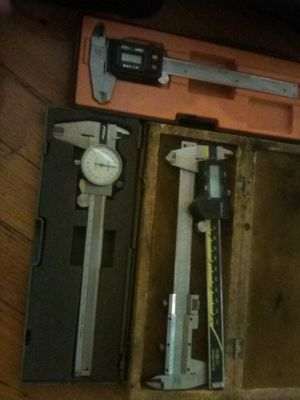 Micrometers, snap Gage, and other metal measuring tools. for Sale in Cleveland, OH
