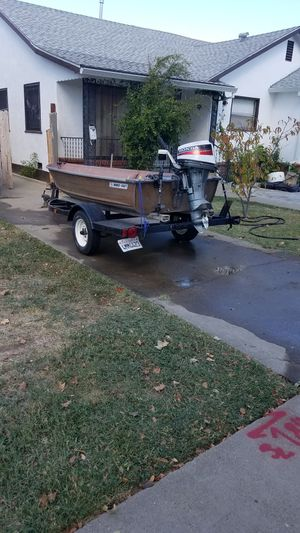 12 feet aluminum boat for Sale in Lodi, CA