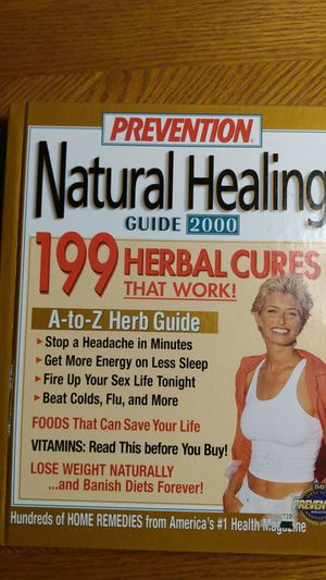 Prevention natural healing book for Sale in Orland Hills, IL