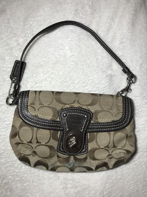 Brown and Tan Coach Mini Purse for Sale in Buckhannon, WV