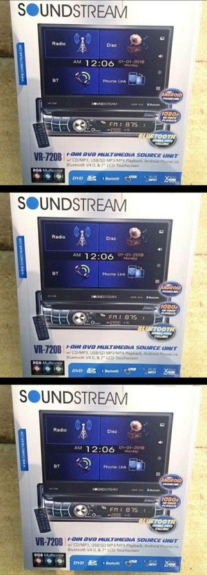 "New Soundstream 7"" LCD Flip Up car Stereo with Bluetooth for Sale in Montebello, CA"