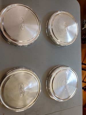 Vintage ford hubcaps for Sale in Newport, MN