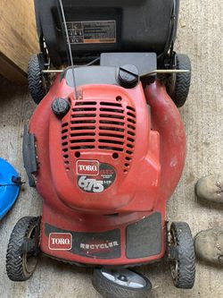 Toro GTS Push Lawn Mower — needs electrical work for Sale in Wilsonville,  OR