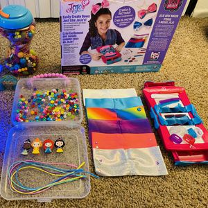 B. DIY Beads Craft, Jojo Siwa, Disney Princess, Girls Toys, Beads Toy for Sale in Upland, CA