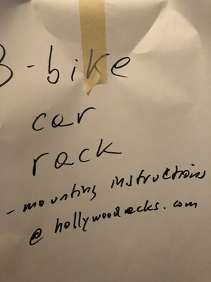 Hollywood bike rack (up to 3) bikes for Sale in New York, NY