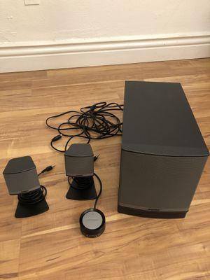 Bose Companion 3 series 2 multimedia speaker system for Sale in Brookline, MA