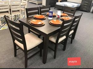 {{ SPECIAL}} dining room set.. table chairs {{ brand new. Delivery available}}} for Sale in Katy, TX