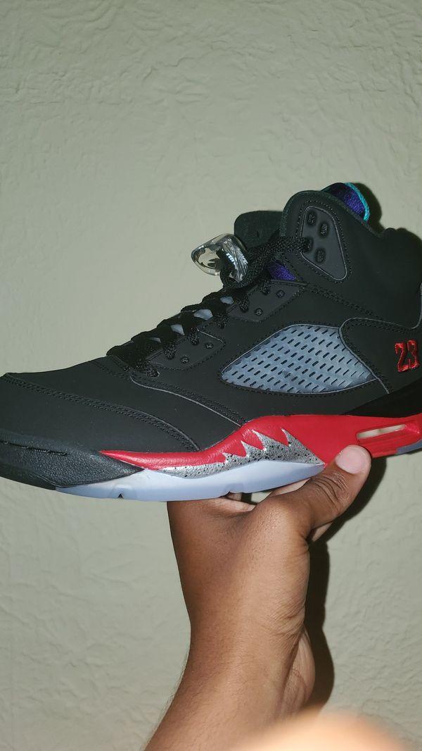 "Jordan 5 ""top 3"" sz 9"