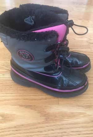 SPORTO SNOW BOOTS. Little Girls size 13/1 for Sale in Addison, IL
