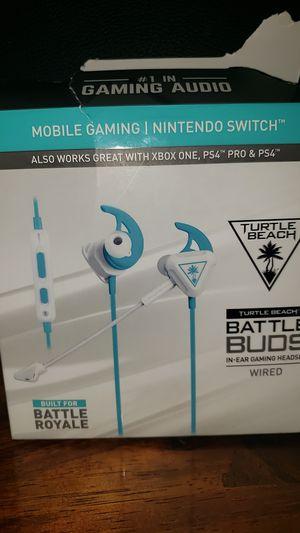 Battle Buds Turtle Beach In-Ear Gaming Headphones for Sale in Mesa, AZ