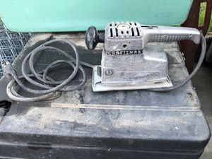 Craftsman Sander (cuts in and out a little) for Sale in Tracy, CA