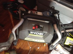 Ryobi 1800PSI Pressure washer set with guns and 2 nozzles, only $75 for Sale in Irving, TX