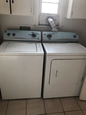 Good condition washer and dryer and Fridge $800 for Sale in Fullerton, CA
