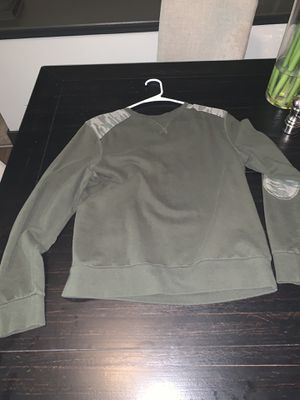 Long sleeve green shirt with camo shoulder for Sale in Dunwoody, GA