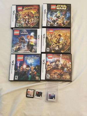 Nintendo LEGO DS and 3DS Game Lot OBO for Sale in Dallas, TX