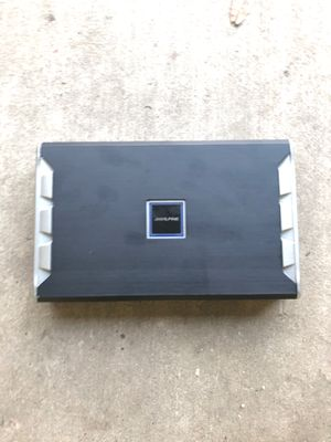 AMPLIFIER ALPINE 5 channel class D PDR V75 for Sale in Fort Worth, TX