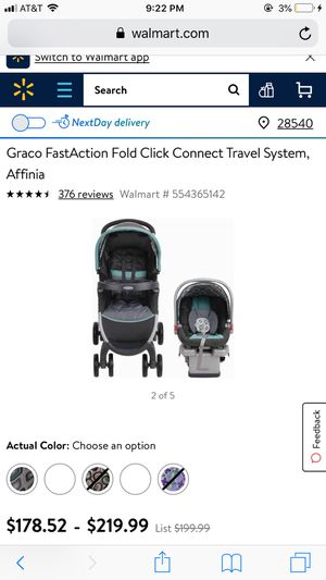 Graco car seat and stroller combo for Sale in Jacksonville, NC