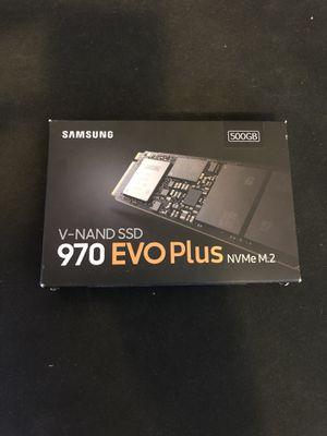 OPEN BOX 500GB SAMSUNG 970 EVO PLUS VNAND M.2 SSD for Sale in Hayward, CA