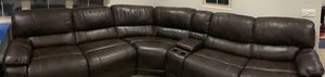 5 seater couch with 2 recliners and cup holders for Sale in Irvine, CA