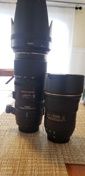 Nikon F-mount Lenses for Sale in Pomona, CA