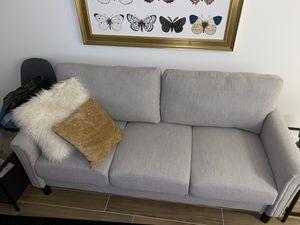 Grey Couch for Sale in North Miami Beach, FL