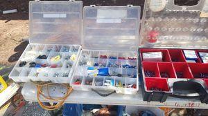 Elec connectors nuts bolts etc $15 each for Sale in Payson, AZ