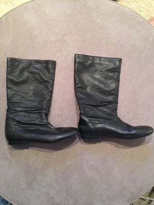 Aldo Black Leather Boots for Sale in Nashville, TN