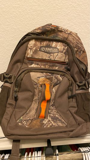 Magellan camo backpack. Never used for Sale in Spring, TX