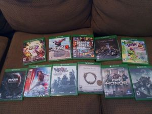 Xbox One Games (Read ad) for Sale in Las Vegas, NV