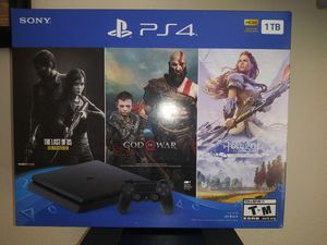 Playstation 4 slim 1Tb * Brand New * 3 games for Sale in Bell Gardens, CA