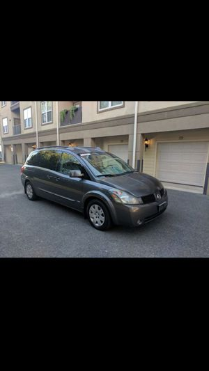 2006 Nissan Quest minivan for Sale in Bethesda, MD