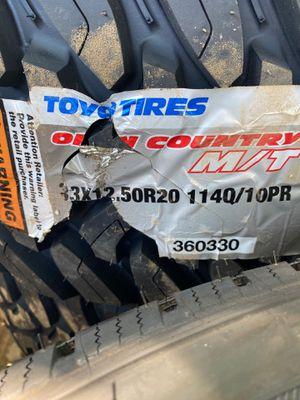 33x12.50r20 MT Toyo for Sale in Midland, TX