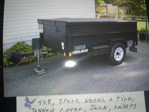 4x8 bri-mar trailer for Sale in Georgetown, DE