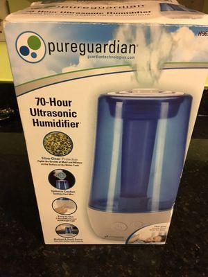 Pureguardian humidifier for Sale in Carol Stream, IL