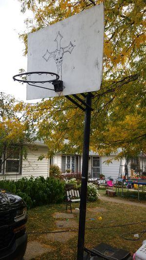 Basketball hoop $50 for Sale in Oak Lawn, IL