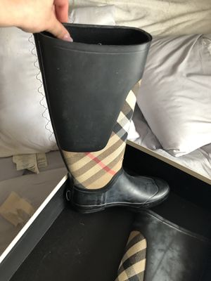 Burberry rain boots for Sale in Everett, MA