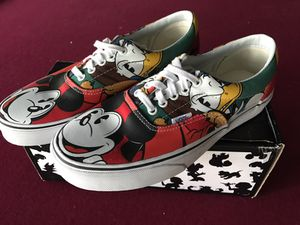Limited edition Vans x Disney authentics! for Sale in Dallas, TX