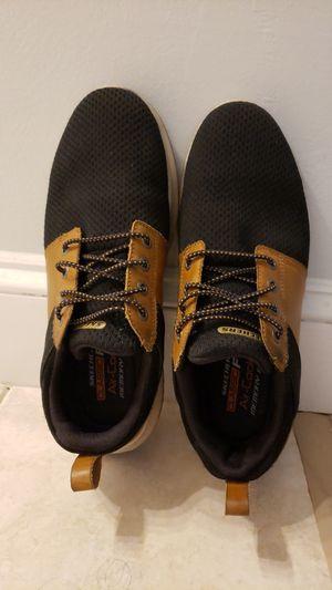 Skechers Delson-Brant Sneakers: Brown/Black; 9.5 US for Sale in Herndon, VA
