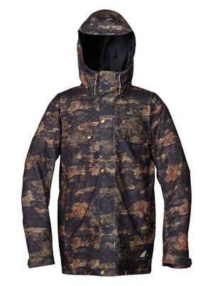 Camo Quicksilver winter snowboarding jacket XL(men) for Sale in Gaithersburg, MD