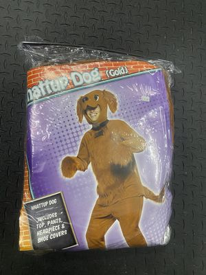 Gold Dog Halloween Costume - one size for Sale in Irvine, CA