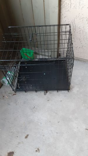 Small dog fold up kennel for Sale in San Bernardino, CA