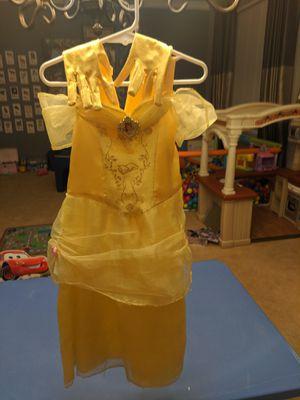 Disney princess Belle dress costume 4-5T for Sale in Gilbert, AZ