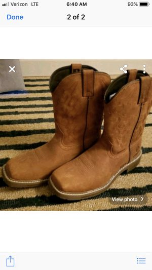 Brand new boots. Size 10.5 for Sale in Paradise, CA