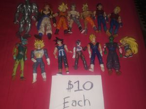 Dragon ball Z Vintage Figures $10 each for Sale in Gaithersburg, MD
