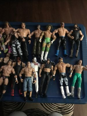 WWE wrestling action figures for Sale in Lubbock, TX