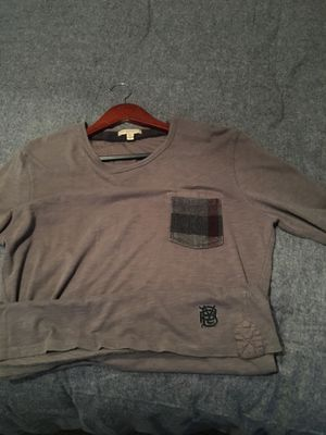 Authentic men's Burberry Brit long sleeve size M for Sale in Thomasville, NC