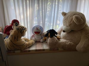 Large /giant stuffed animals for Sale in Palo Alto, CA