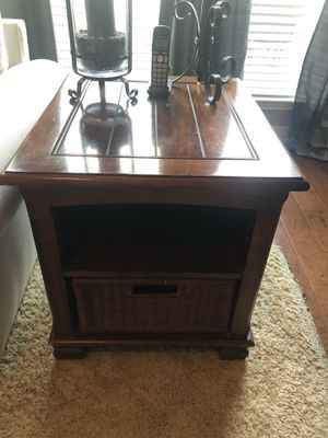 Sofa table and end table for sale for Sale in Spring, TX