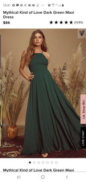XS Emerald Green Prom/Formal Dress for Sale in La Mesa, CA